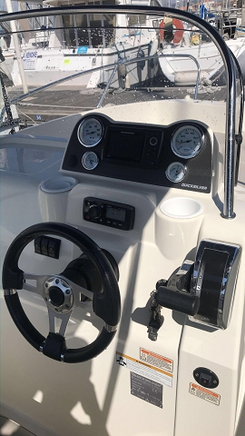 bateau quicksilver 7 places OPEN 150 cv
